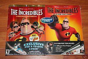 The Incredibles 2 DVD Full Screen Exclusive Pack PC CD