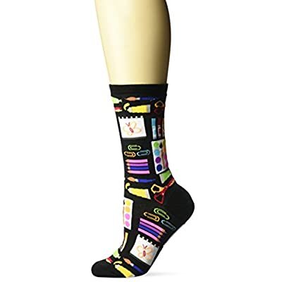Hot Sox Women's Art Supplies Socks at Women's Clothing store