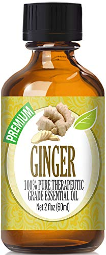 Ginger Essential Oil - 100% Pure Therapeutic Grade Ginger Oil - 60ml