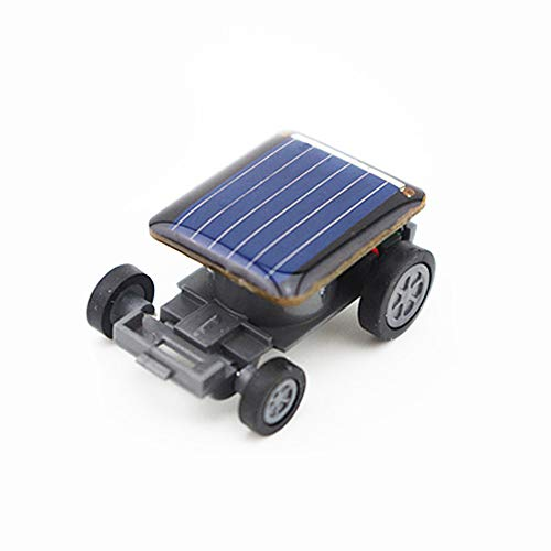 Vertily 2pcs Children DIY Assemble Solar Power Car Toy Kit Smallest Solar Power Mini Toy Car Racer Educational Solar Powered Toys Educational - Racer Mini Solar