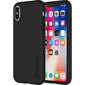 lowest price e61fe 9b4ab Incipio IPH-1629-BLK Apple iPhone X DualPro Case - Black