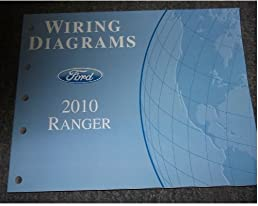 2010 ford ranger wiring diagrams service shop manual ford amazon 2010 Corolla Wiring Diagram