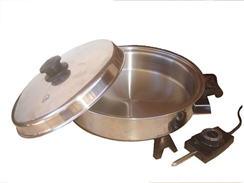 Saladmaster Oil Core Electric Skillet Model 7817 For Sale