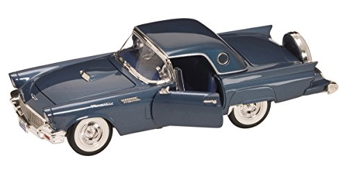 Road Signature 92358 Scale 1:18 1957 Ford Thunderbird Vehicle, Dark (Ford Thunderbird Diecast Model)