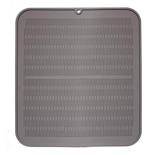 Large Silicone Drying Mat, Extra Large Kitchen Dish Drainer