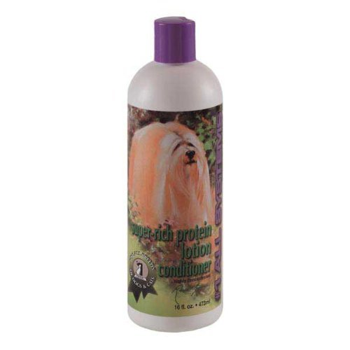 (#1 All Systems Super-Rich Protein Lotion Pet Conditioner, 16-Ounce by #1 All Systems)