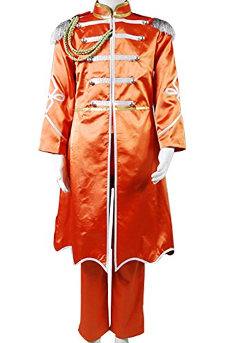 Pepper Costumes (CosplaySky The Beatles Sgt.Pepper's Lonely Hearts Club George Harrison Costume Medium)