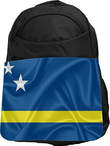 Rikki Knight UKBK Curaco Flag Tech BackPack - Padded for Laptops & (Dutch Liqueur)