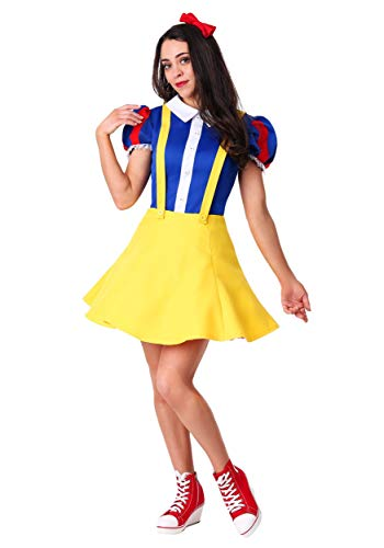 Women's Hip Snow White Costume Large -