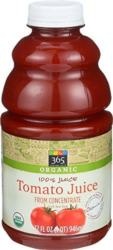 Fat Free Organic Tomatoes - 365 Everyday Value, Organic 100% Juice, Tomato, 32 fl oz