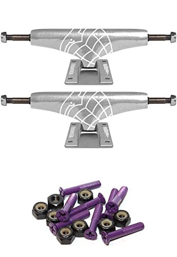 Thunder Trucks Polished Lights 145mm Skateboard Trucks with 1