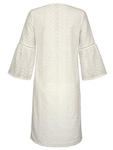Dress In Damen Ausschnitt Modischem mit V Kleid in 8gqzw8A