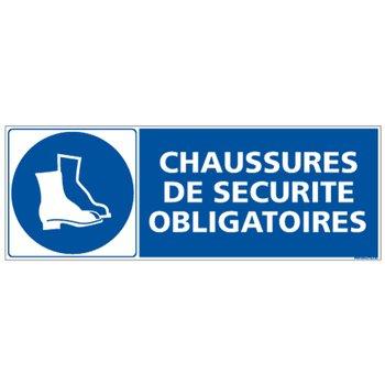 Chaussures de S/écurit/é Obligatoires Dimensions 210 x 75 mm Adh/ésif Protection Anti-UV