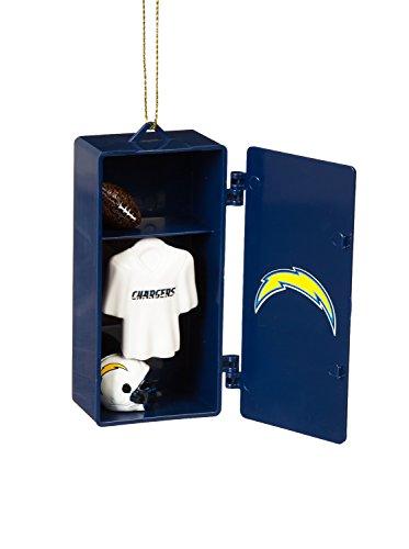 (Team Sports America San Diego Chargers Team Locker Ornament)