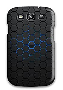 Special Design Back Hexagon Pattern Phone Case Cover For Galaxy S3