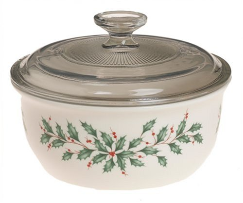 Lenox Holiday Bakeware (Lenox Holiday Casserole with Lid)