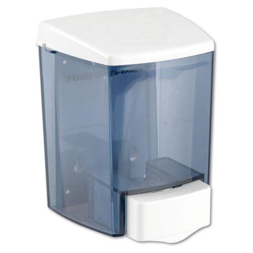 Impact 9335 Encore ABS Bulk Foam Soap Dispenser, 30 oz Capacity, 4'' Length x 4-1/2'' Width x 6-1/4'' Height, White (Case of 12)