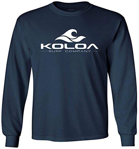 Koloa Surf Classic Wave Youth Long Sleeve Heavyweight Cotton