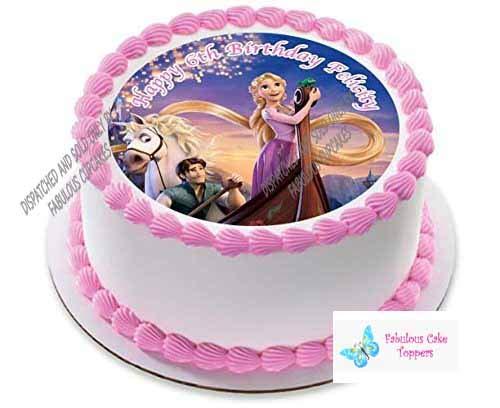 Rapunzel Enredados personalizada decoración para tarta para ...