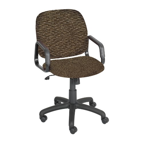 Safco 7045BR Cava Urth High Back Task Chair, Brown