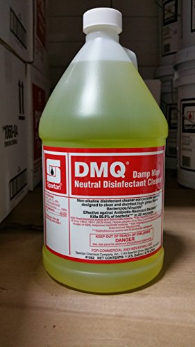 SPARTAN DMQ NEUTRAL DISINFECTANT CLEANER CASE OF 4 GALLONS (Case 4 Gallon Cleaner)