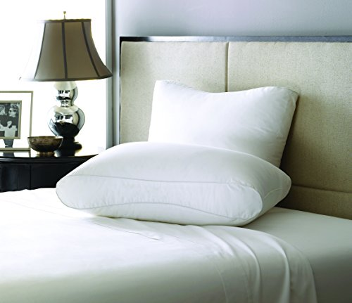 LC Modern Classics Lux-Loft Gusset Pillow, 300 Thread Count, Twin Pack, (King Bed Pack)