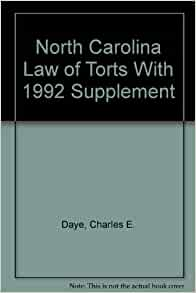 north carolina law of torts Buy north carolina law of torts: read kindle store reviews - amazoncom.