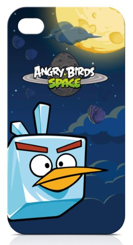 Gear4 ICAS403G Angry Birds Space Ice Bird Schutzhülle für Apple iPhone 4/4S
