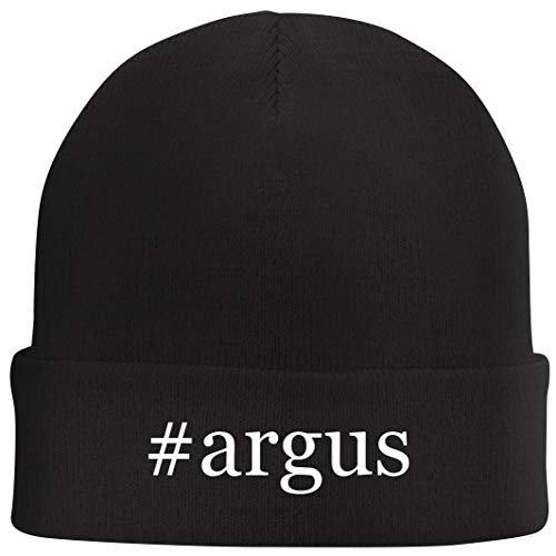 Tracy Gifts #Argus - Hashtag Beanie Skull Cap with Fleece Liner, Black, One Size (Funny Things Black People Say In Arguments)
