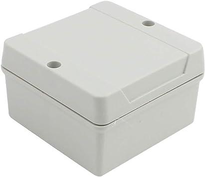 88x88x53mm Caja de conexiones PROYECTO ELECTRÓNICO exterior IP65 a ...