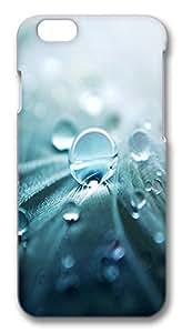 """ICORER iPhone 6 Plus Case 5.5"""" Lastest iPhone 6 Plus Cases, Drop Of Water 3D Design PC Hard Plastics Case for Apple iPhone 6 Plus(5.5"""")"""