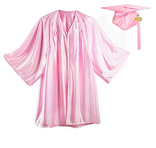 HEPNA [2019] Uniforms Preschool&Kindergarten Graduation Gown Cap Tassel