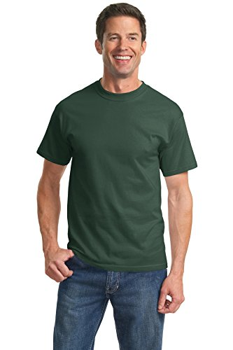 port-company-mens-essential-t-shirt-xl-forest-green