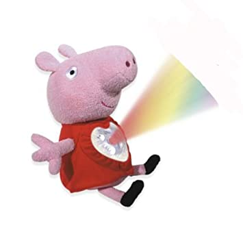 Jumbo Peppa Pig - Peluche con luces y música