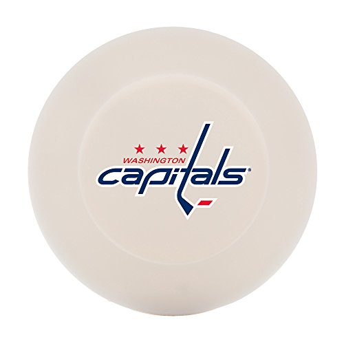 Smooth Hockey Ball - Franklin Sports NHL Washington Capitals Street Hockey Puck, One Size, White