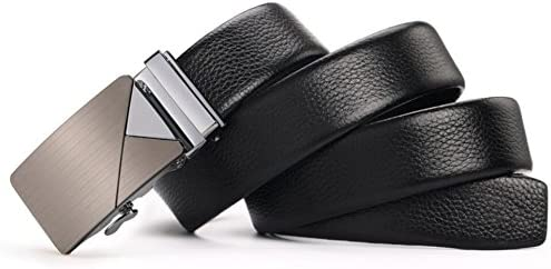 Soft Adjustable Work Active Basic Leather Belt,Great for Jeans /& Casual Wear /& Cowboy Wear /& Work Clothes Uniforms XUEXUE Mens Belt,Automatic Buckle Business Belt,Casual Leather