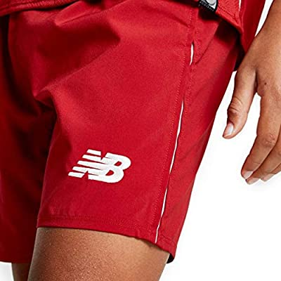 4b03d9475 New Balance 2018-2019 Liverpool Home Shorts (Red) - Kids. Loading Images...  Back. Double-tap to zoom