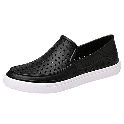 YiLianDa Zapatos Aguamarina de Agua Zapatillas deportivas de Aqua de Surf de Playa de deporte para hombre Verano Sandalias Negro