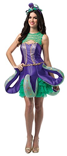 BESTPR1CE Womens Halloween Costume- Ornate Octopus Adult Costume]()