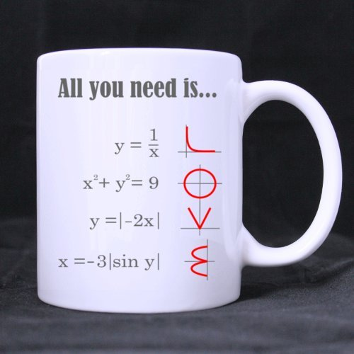 Smart Design Math Style Love Pattern All You Need Is Love