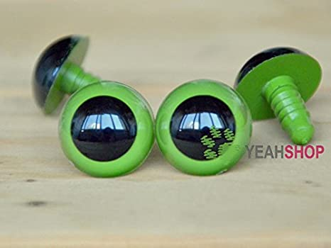 Amazon.com: Safety Eyes 5 Pair 24mm to 34mm Choose Color & Size ... | 350x466