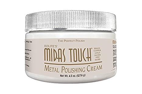 rolite de Midas Touch Metal pulido crema con joyeros Rouge para oro, latón, cobre