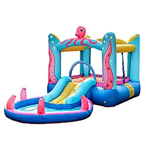 WJSW Castillos hinchables Castillo Inflable para niños ...