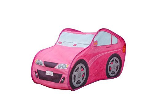 Kids Play Tent Make Believe Car Play Tent Barbie VW Mini Driver Play-house Indoor & Outdoor Pop-Up Tent Great Game & Toy For Gift For Children Fun by Alvantor