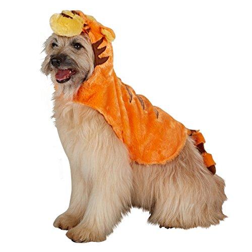 Disney Small Dog orange Tigger Costume