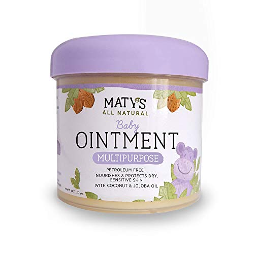 Maty's All Natural Baby Ointment 10 oz. Petroleum-Free Multipurpose ()