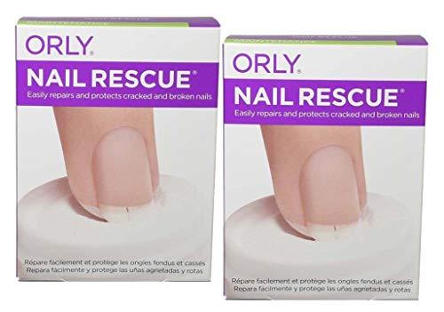 Nail Treatment Kit - 2 X Treatment - NAIL RESCUE KIT Repair & Protect Cracked & Broken Nails [Brush-on Nail Glue 0.17oz + Nail Repaid Powder 0.15oz]