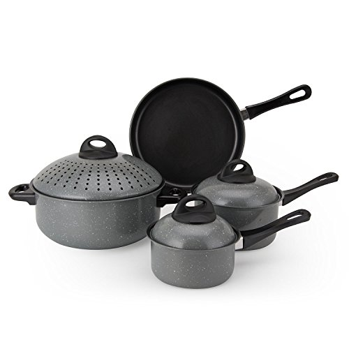 Aramco 7 Piece Alpine Gourmet Carbon Steel Non-Stick with...