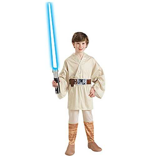 Luke Skywalker Kids Costume, Large, (Boys Luke Skywalker Costumes)