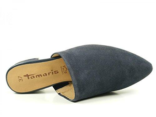 Tamaris 27304, Mocasines para Mujer Blau